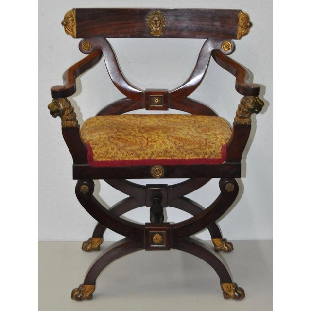 18th C. French Carved & Gilded Chair - Image 2 of 10
