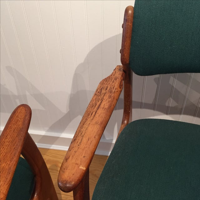 Danish Modern Erik Buch Chairs - Set of Two - Image 6 of 11
