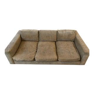 Jonathan Adler Beige Down-Filled Sofa For Sale