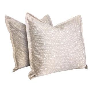 Jacquard Pillow Cases - A Pair