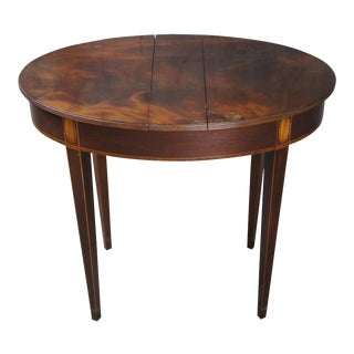 Baker Historic Charleston Mahogany Neoclassical Side Table For Sale