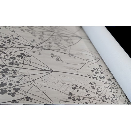 Branches & Floral wall covering. A beautiful touch to any space. Woven back. Class A Type II Vinyl. high quality...
