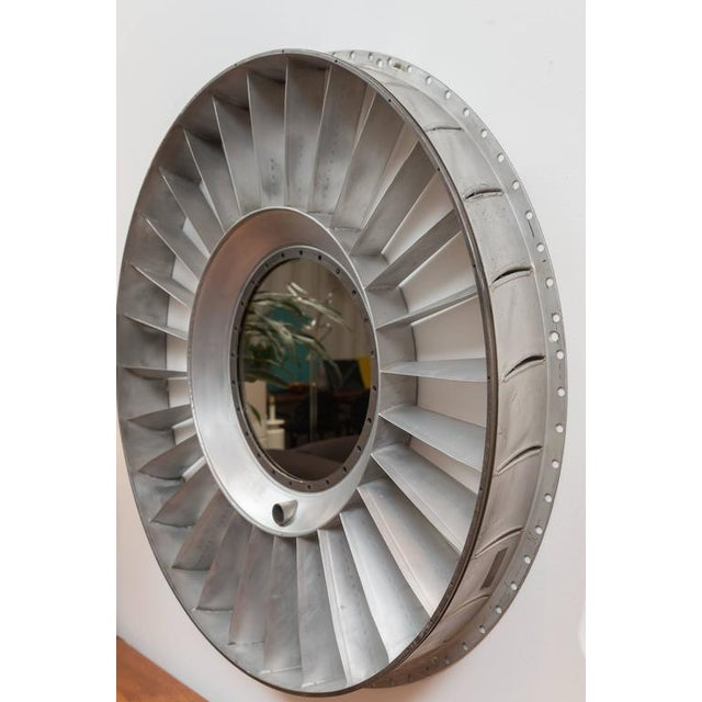 Titanium Jet Engine Mirror For Sale - Image 5 of 9