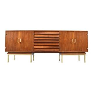 Mid-Century Sideboard/Credenza by Merton Gershun For Sale