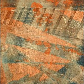 Kismine Varner, American Modern Art - Orange For Sale