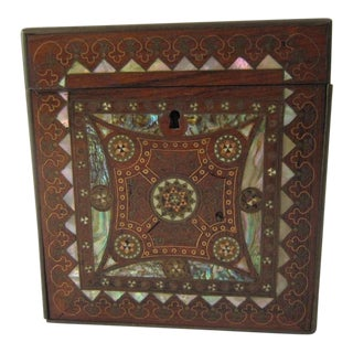 Mosaic Inlay Wood Box
