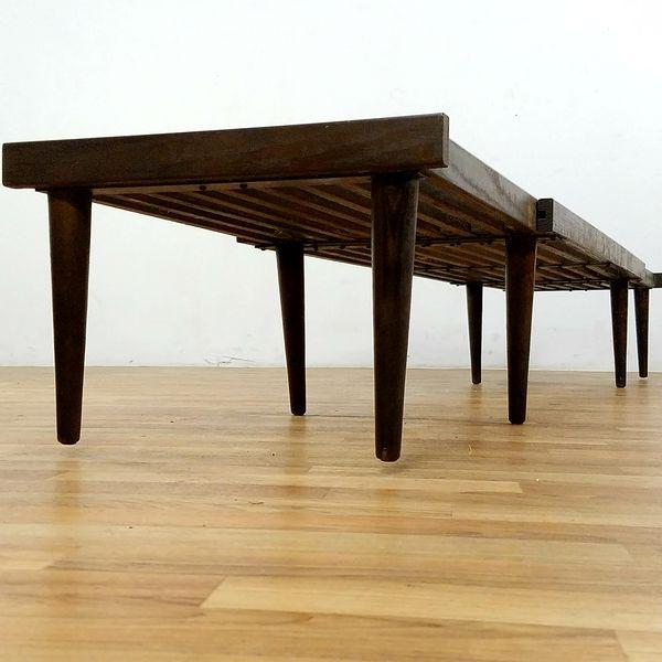Brown Saltman Slat Bench - Image 5 of 10