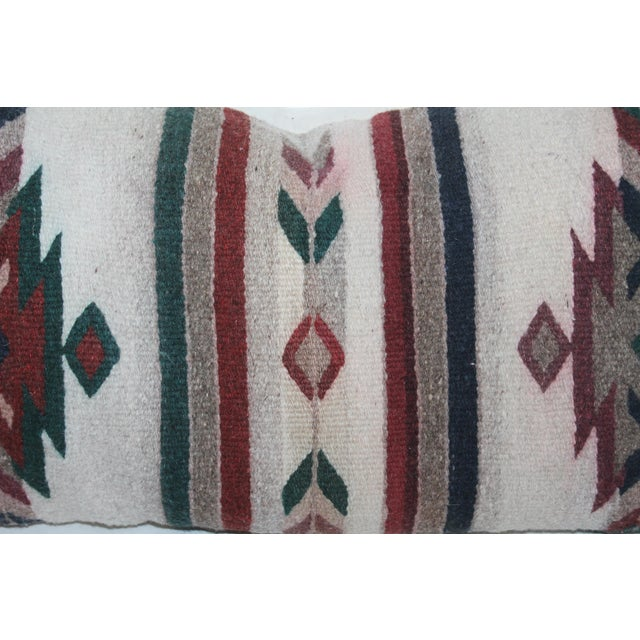 Native American Native American Style Serape Pillows - A Pair For Sale - Image 3 of 10