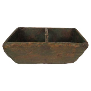 Antique French Garden Trug