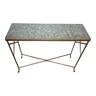 Mid Century Modern Console Table.