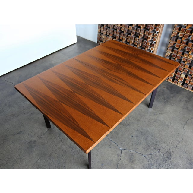 1960s Mid-Century Modern Milo Baughman Dining Table for Directional Furniture For Sale - Image 10 of 13