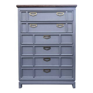 Thomasville Mystique Campaign Style Chest of Drawers For Sale