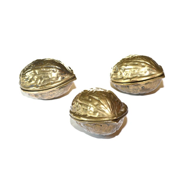 Vintage Brass Walnut Nutcracker - Image 6 of 6