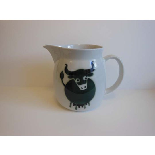 Vintage Arabia Bull Cow Pitcher Kaj Franck - Image 2 of 6