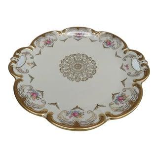 Mid 20th Century Pasco Tirschenreuth Pt Bavaria German Porcelain Plate For Sale