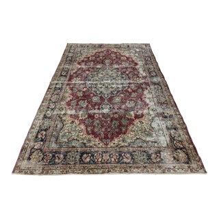 Distressed Turkish Carpet | 7'1 X 10'8