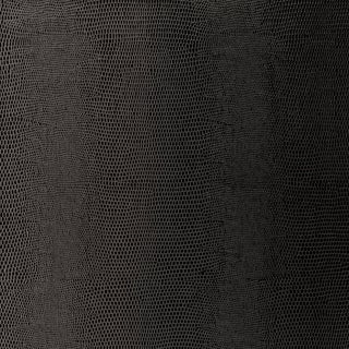 Sample - Schumacher Lizard Wallpaper in Carbon For Sale