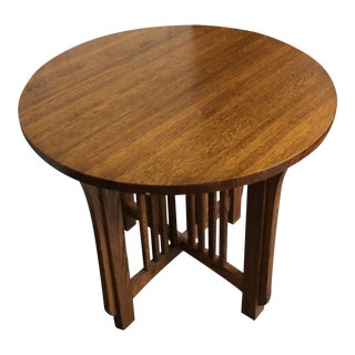 Stickley Mission Style Library Table