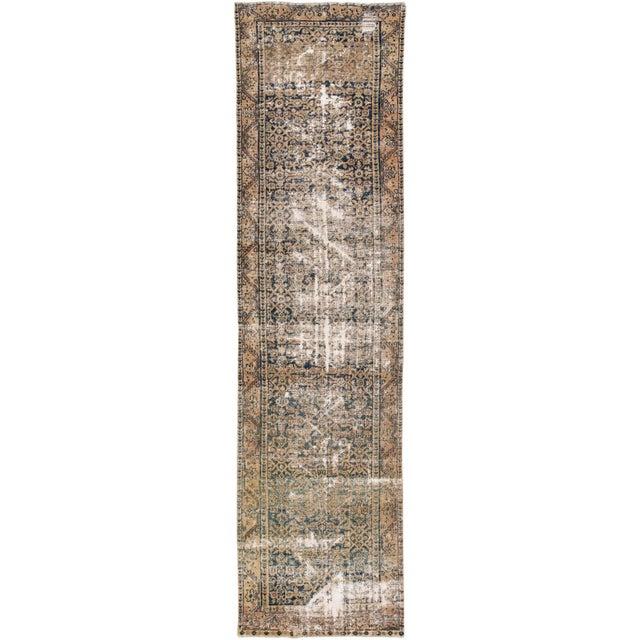 "Apadana-Antique Persian Distressed Rug, 3'0"" X 11'7"" For Sale - Image 10 of 10"