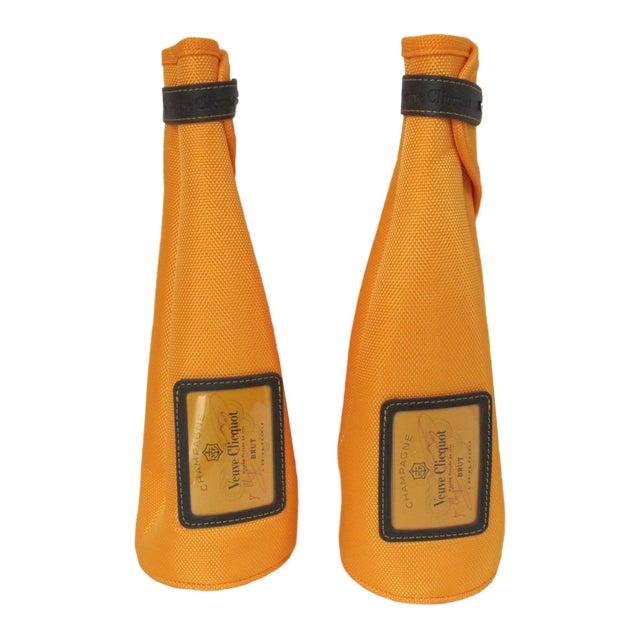 Veuve Cliquot Champagne Jackets-2 Pieces For Sale