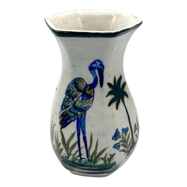 Edo Period Japanese Stoneware Vase For Sale
