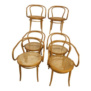 Thonet Model 209 Bentwood Chairs - Set of 6