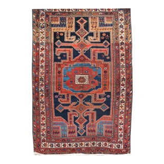 "Early 20th Century Hamadan Rug 4' 1"" X 6' 1"""