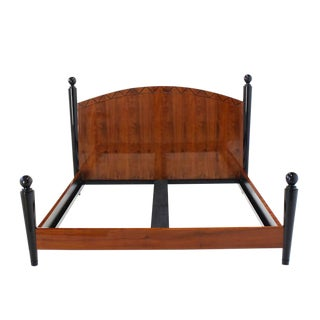 King-Size Headboard Footboard Bed For Sale