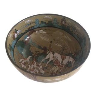 Vintage 1908 Deldare Hunting Bowl For Sale