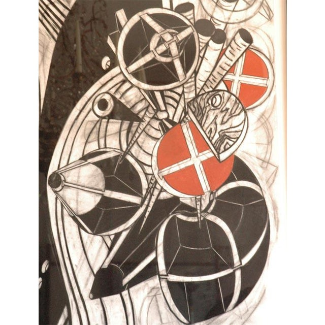 """Stunning abstract composition by John Monti. John Monti (1957-) is one of the upcoming """"undiscovered"""" artists of his..."""