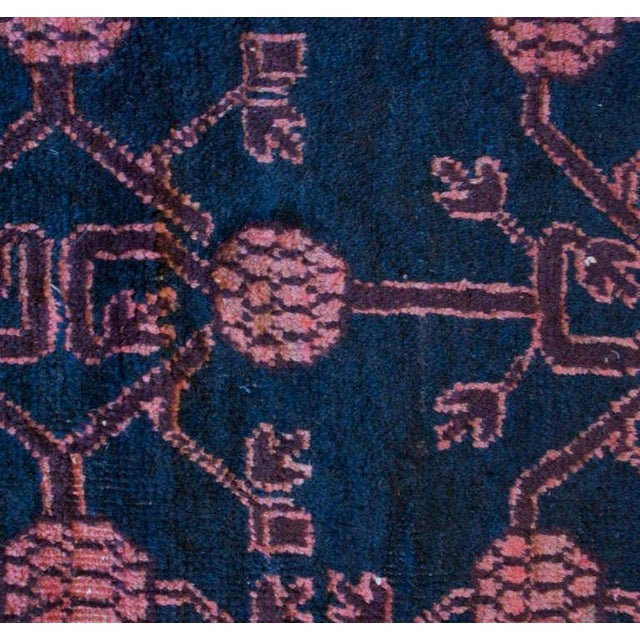 """Early 20th Century Khotan Rug - 4'3"""" x 9'4"""" For Sale - Image 4 of 4"""
