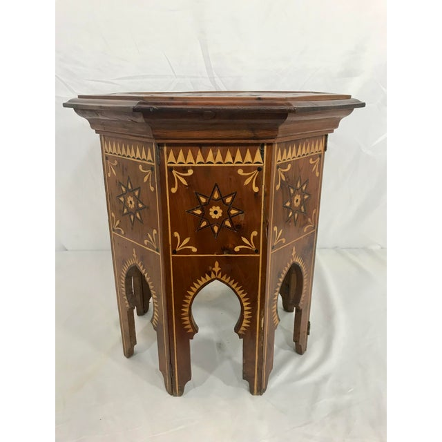 Islamic Syrian Octagonal Folding Traveling Table For Sale - Image 3 of 9
