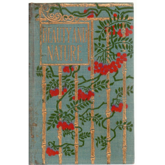 Antique Beauty and Nature Book - Image 1 of 2