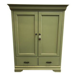Hooker Furniture Cherry Media Cabinet or Armoire For Sale