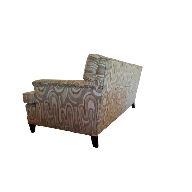 Hollywood Regency 1940s Maison Jansen-Style Neutral Sofa For Sale - Image 3 of 7