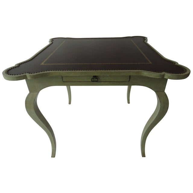 1980s Traditional Minton-Spidell Game Table For Sale - Image 10 of 10