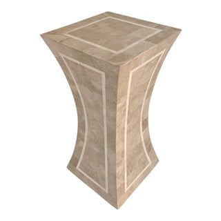 Vintage Tessellated Stone Pedestal For Sale