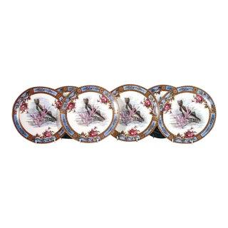 Garfield Pottery Earthenware Plates by Wood & Hulme - Set of Six