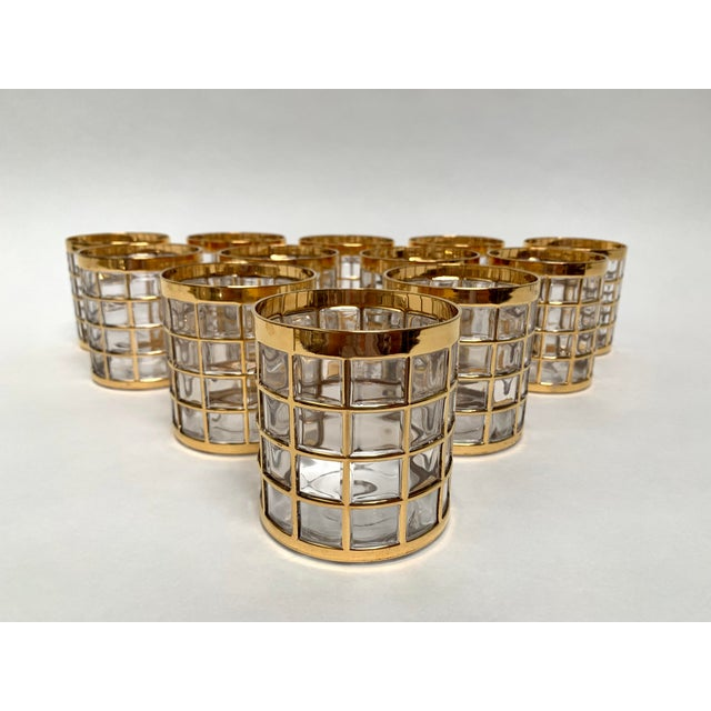 Imperial Glass Toril De Oro Rocks Cocktail Glasses - Set of 12 For Sale - Image 12 of 12
