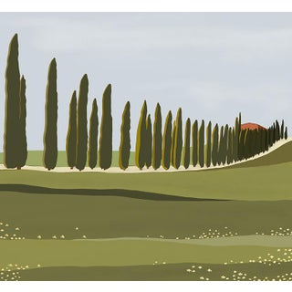 Val d'Orcia #3 Print For Sale