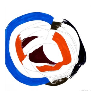 """Ellen Priest """"Jazz Cubano #50: Percussion Drawing"""", Painting For Sale"""