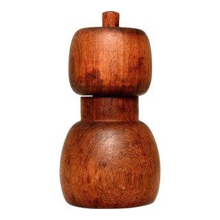 Dansk Teak Salt Pepper Mill Shaker, Jens Quistgaard, Danish Modern For Sale