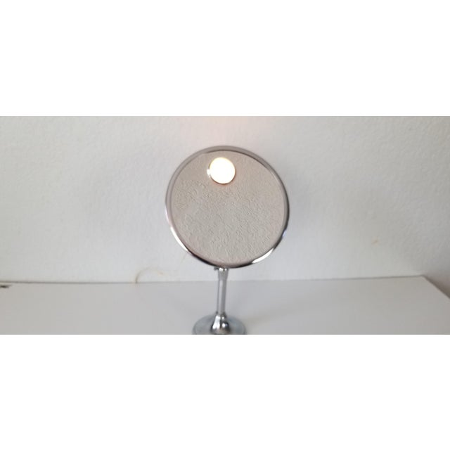 1960s 1960 Brot Mirophar Illuminated Vanity Mirror Paris - France . For Sale - Image 5 of 13