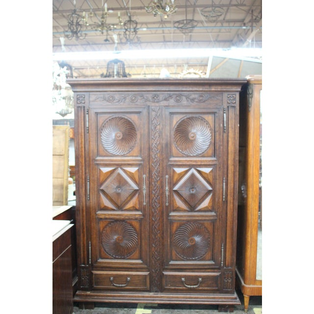 Late 18th Century 18th Century French Armoire/Wardrobe For Sale - Image 5 of 5