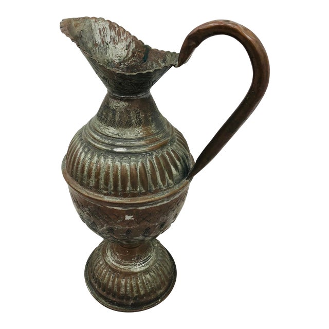 Antique Indian Pitcher For Sale