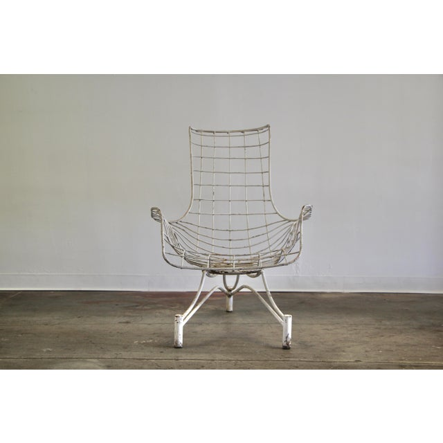 Kagan-Dreyfuss, Inc. 1950s Vintage Vladimir Kagan Capricorn Lounge Chair For Sale - Image 4 of 12