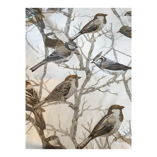 Kravet Couture Perched Sparrows Fabric For Sale