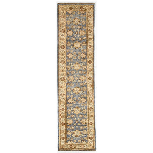 "2010s Pasargad DC Pak Oushak Lambswool Rug - 2′6"" × 9′8″ For Sale - Image 5 of 5"