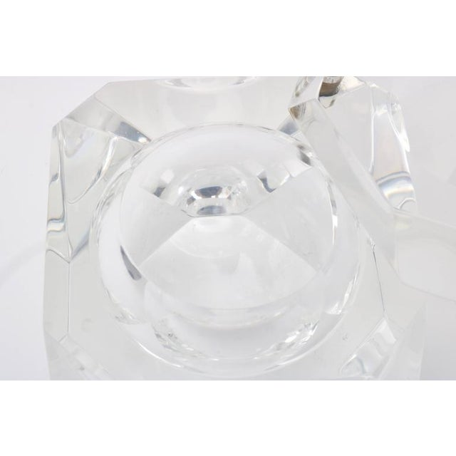 Alessandro Albrizzi Clear Lucite Ice Bucket - Image 6 of 7