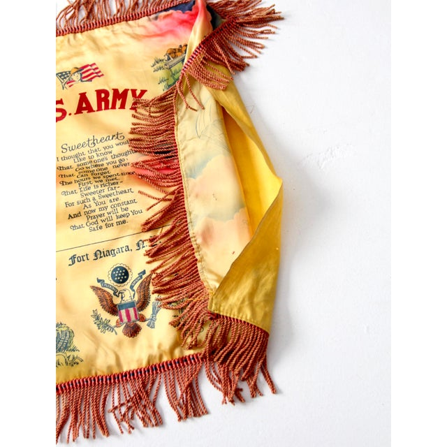 1940s US Army Souvenir Pillowcase - Image 4 of 7